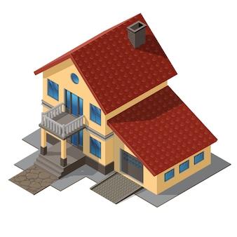 Cottage américain, petite maison en bois