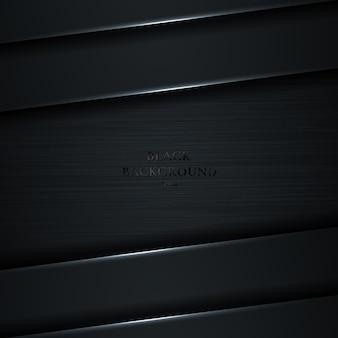 Couche de dégradé noir et gris diagonale abstraite