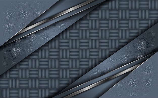 Couche de fond abstrait gris avec des paillettes