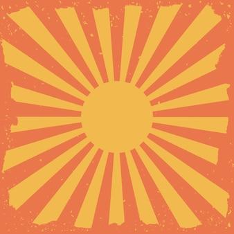 Coucher de soleil la conception numérique.