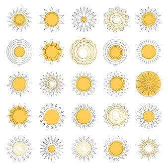 Coucher de soleil ligne