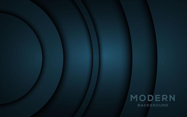 Les couches de chevauchement sombres modernes fond ..