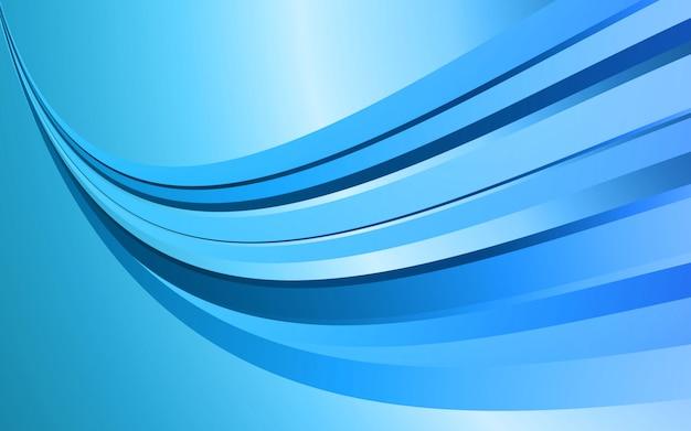 Couleur bleu graphique moderne abstrait
