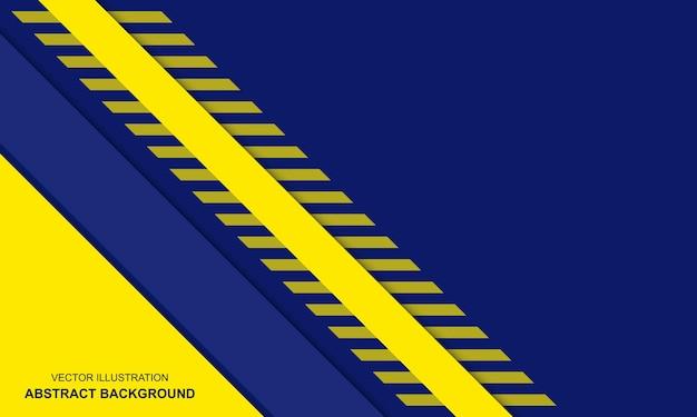 Couleur bleu et jaune de fond moderne