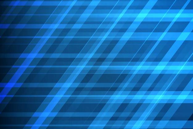 Couleur bleue design moderne élément géométrique vecteur abstrait