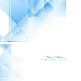 Couleur bleue moderne forme polygonale design fond