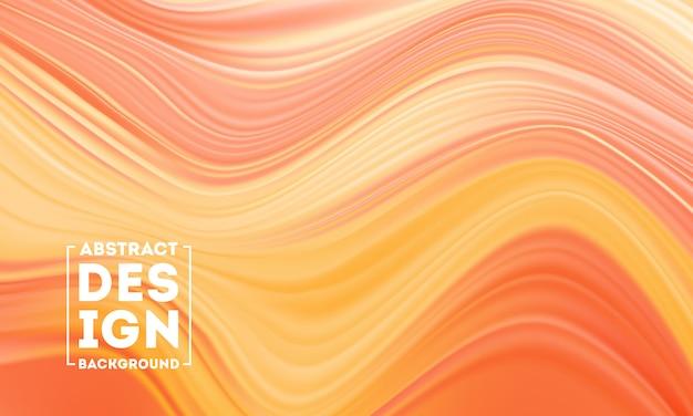 Couleur de forme liquide wave