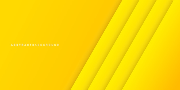 Couleur jaune coloré abstrait de la couche de papier
