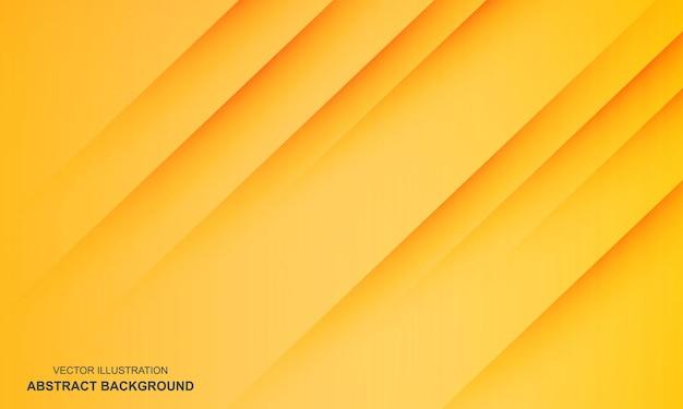 Couleur moderne jaune abstrait diagonale