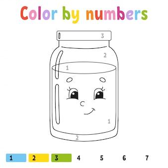 Couleur par numéros.