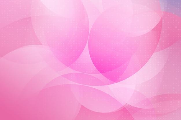 Couleur rose design moderne élément géométrique vecteur abstrait