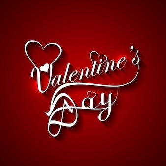 La couleur rouge valentines day card