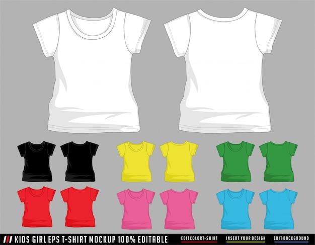 Couleur de t-shirt pour enfants