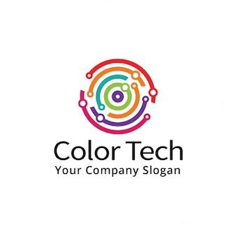 Couleur tech logo