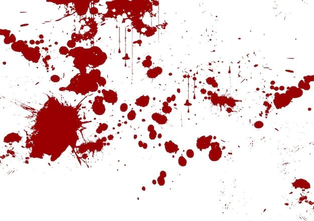 Coup de pinceau abstrait vecteur rouge et fond d'éclaboussure