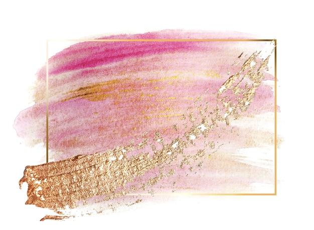 Coup de pinceau de peinture pastel