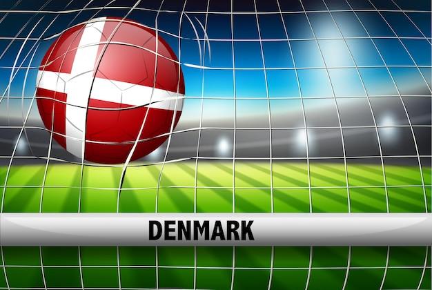 Coupe du monde de football au danemark