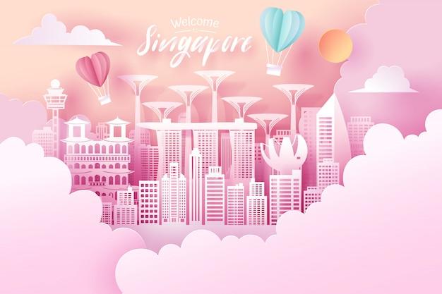 Coupe de papier de singapour