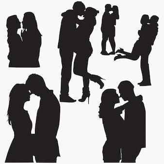 Couple d'amoureux