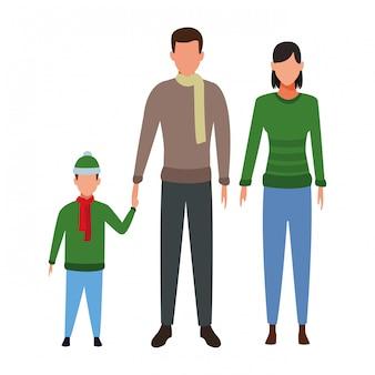 Couple avec enfant avatar