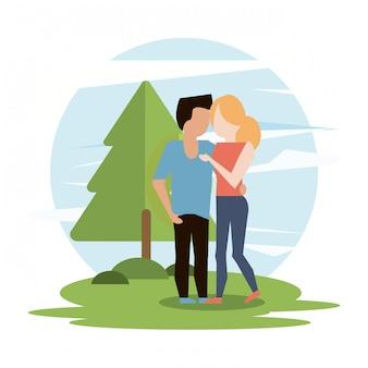 Couple homme et femme
