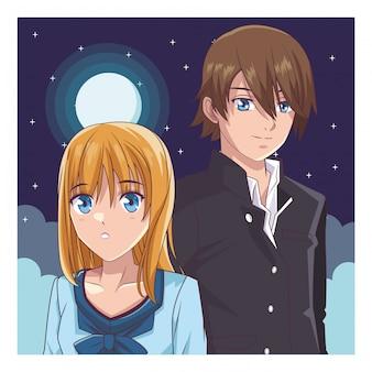 Couple manga anime