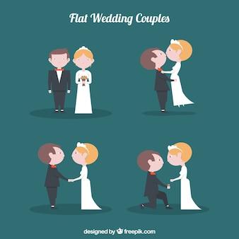 Couples de mariage mignon