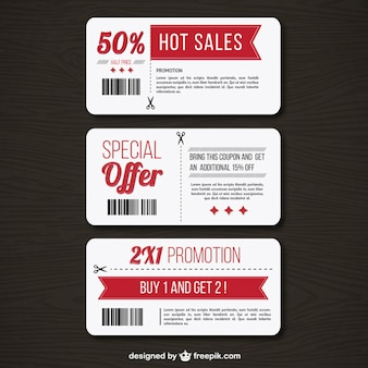 Coupons de promotion