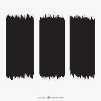Coups de pinceau texture
