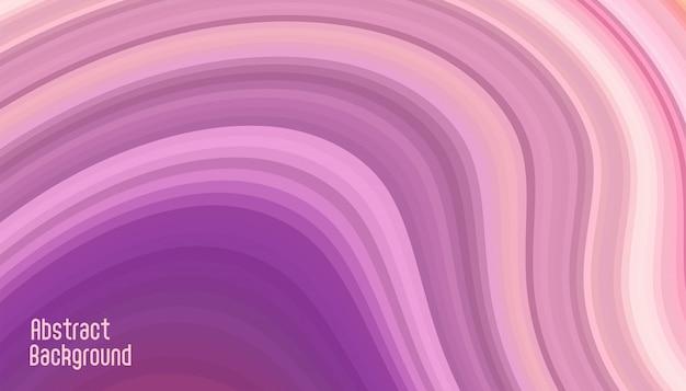 Courbe abstraite lignes lisses fond violet