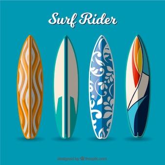 Coureur de surf moderne