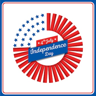 Couronne de fête de l'indépendance