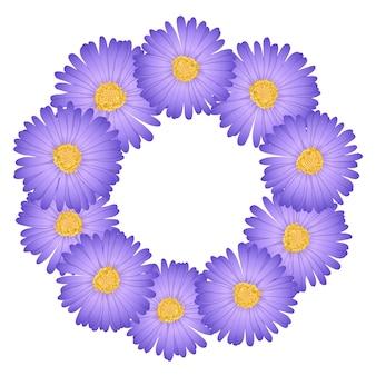 Couronne de fleurs de marguerite