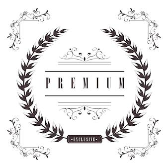 Couronne de laurier premium