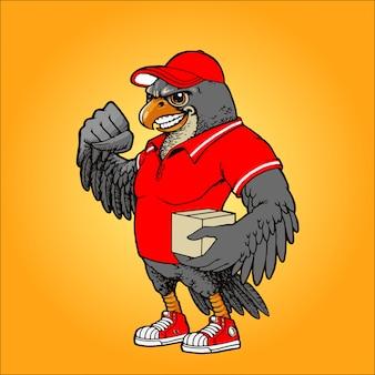 Courrier de faucon