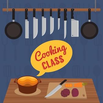 Cours de cuisine culinaire