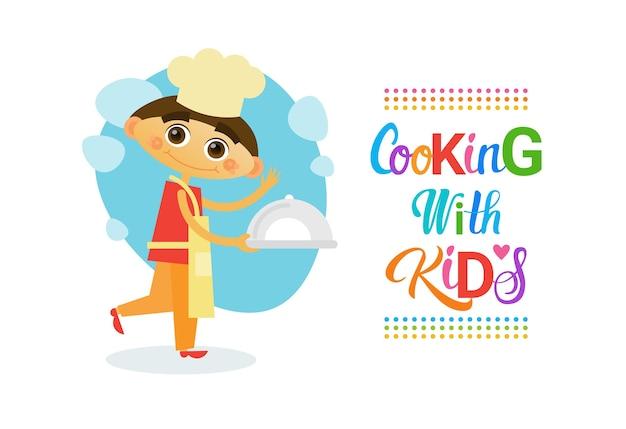 Cours de cuisine avec enfants pour enfants