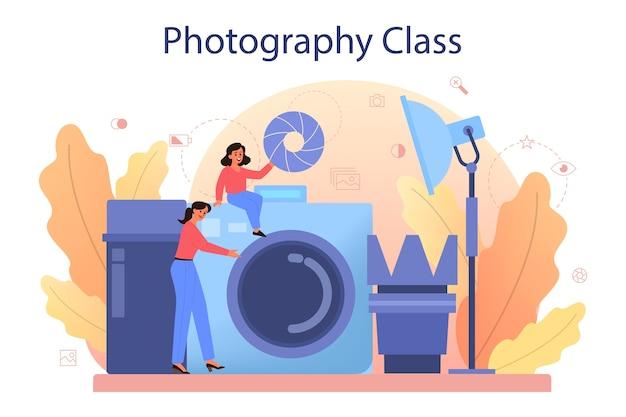 Cours d'école de photographie