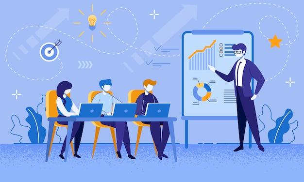 Cours de formation pour travailleurs et hommes d'affaires