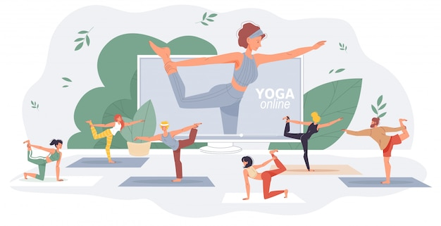 Cours internet de yoga fitness