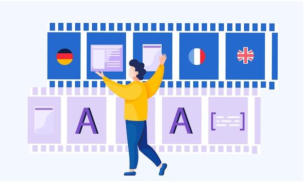 Cours de langue internet en ligne