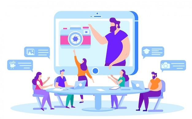 Cours en ligne sur la photographie et la vidéo