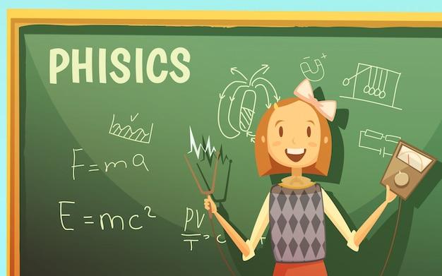 Cours de physique à l'école primaire