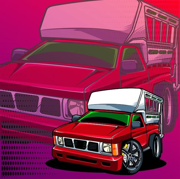 Courses de camions