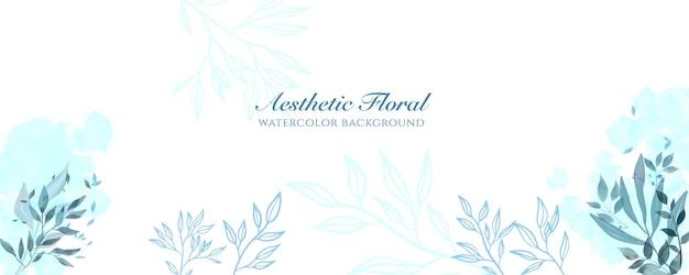 Couverture de bannière large à l'aquarelle ou publicité de page web. aquarelle abstraite éclaboussure bleu marine brillant modèle de fond vecteur vertical large. pour la beauté, le mariage, le maquillage, les bijoux. féminin romantique