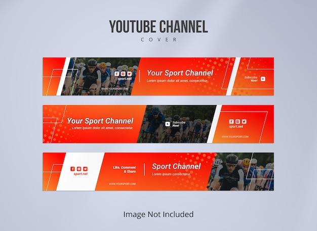 Couverture de la chaîne youtube pour le sport