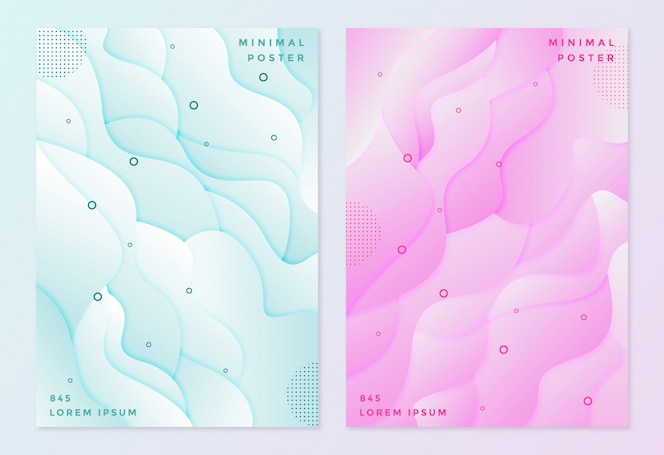 Couverture en couleur pastel rose et bleue