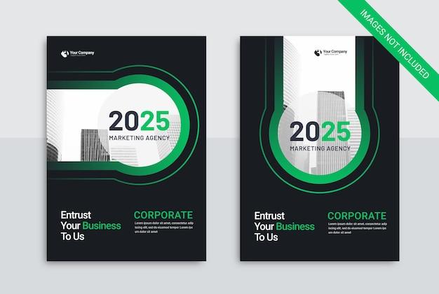 Couverture du modèle d'entreprise de l'agence de marketing