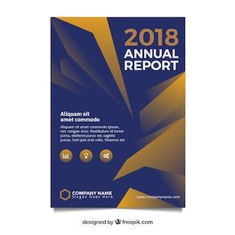 Couverture du rapport annuel moderne