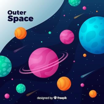 Couverture de l'espace extra-atmosphérique